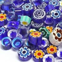 Millefiori, Blue Tones, 50 g