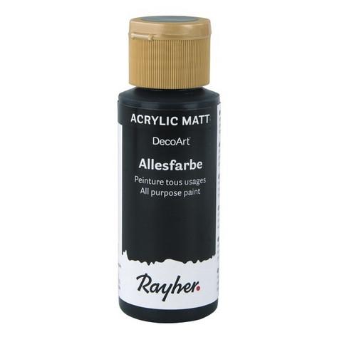 Akryylimaali, Black, 59 ml