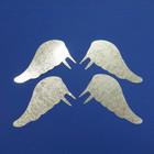 Metal angel wings, 10 cm