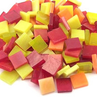 T159 Yellow-Red Mix, 1x1 cm, 200 g