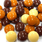 Minipärlor, Brown Mix, 200 g