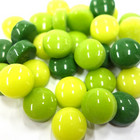 Minipärlor, Green Mix, 200 g