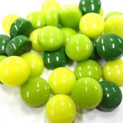 Mini Gems, Green Mix, 50 g