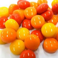 Minipärlor, Red Mix, 200 g