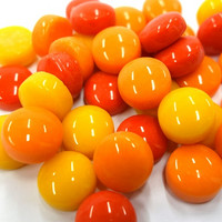 Minipärlor, Red Mix, 50 g
