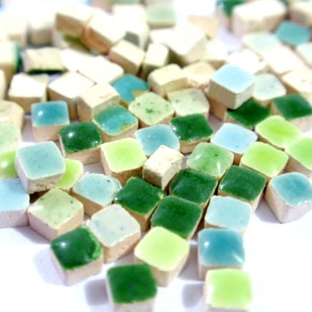 Liliput Green Mix, 3x3 mm, 70 g