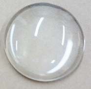 Cabochon, rund, 38 mm