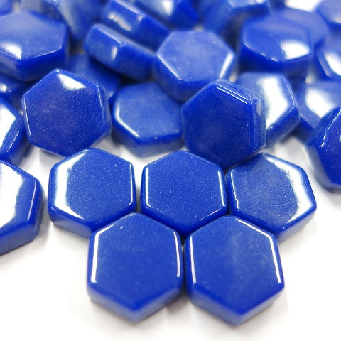 Hexagon, Blue, 100g