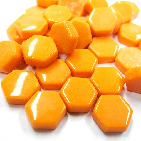 Hexagon, Orange, 100g