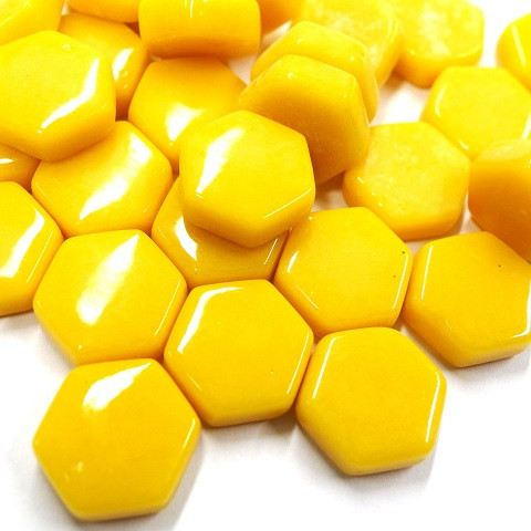 Hexagon, Yellow, 100 g