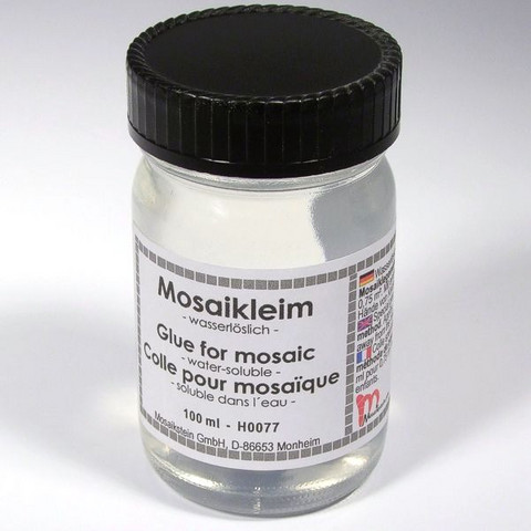 Water Soluble Mosaics Glue for indirect method, 100 ml