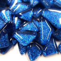 Soft Glass Glitter, Sininen 200 g
