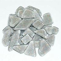 Soft Glass Glitter, Silver 100 g