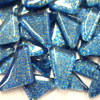 Soft Glass Glitter, Twilight Blue 500 g
