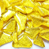 Soft Glass Glitter, Gold 200 g