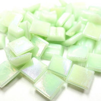 Mini iridescent, Light Green, 50 g