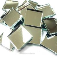 Mirror Mosaic, Silver, 2x2 cm, 500 g