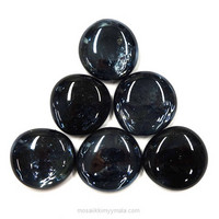 XL-Gems, Black, 6 pcs