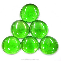 XL-Gems, Green, 6 pcs