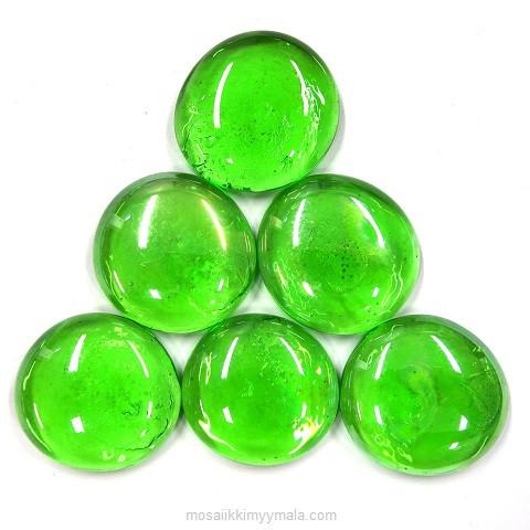 XL-Pärlor, Green, 6 st