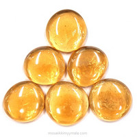 XL-Gems, Amber, 6 pcs