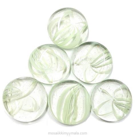 XL-Gems, White Art, 6 pcs