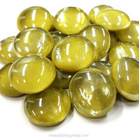 Glass Gems, 500 g, Olive
