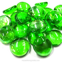 Glass Gems, 100 g, Melone, transparent