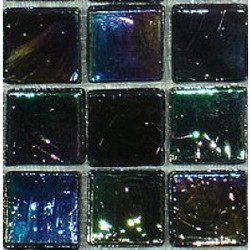 Iridescent 15mm, Ebony, 81 tiles