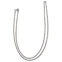Halsbandskedja av rostfritt stål, 60 cm