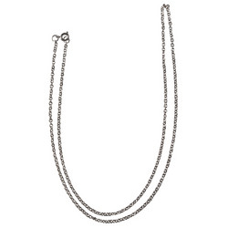 Element chain, stainless steel, 60 cm