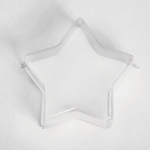 Casting Mould, Star, 11 cm