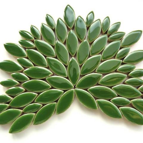 Keramiska löv, Eucalyptus, 50 g