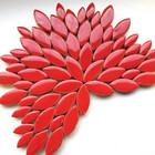 Keramiska löv, Poppy Red, 50 g