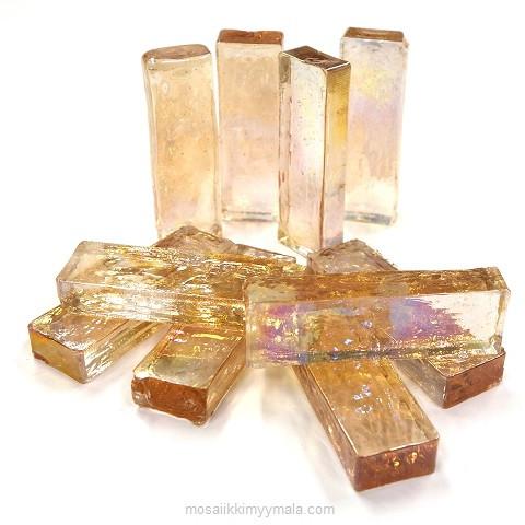 Form Glas, Rektangel, Peach, 10 st