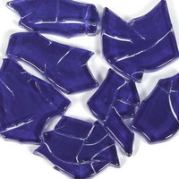 Crash Glass, Tummansininen 125 g