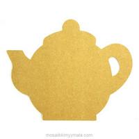 MDF-teapot, 24 cm