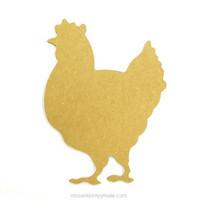 MDF chicken, 30 cm
