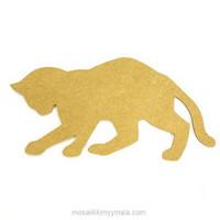 MDF-katt, 31 cm