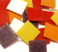 Joy Glas, Fire on ice Mix, 2x2 cm, 1 kg