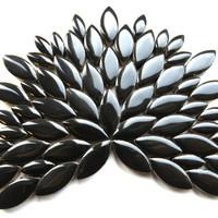 Ceramic leaves, Black, 50 g