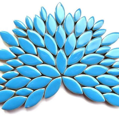 Keramiska löv, Thalo Blue, 50 g