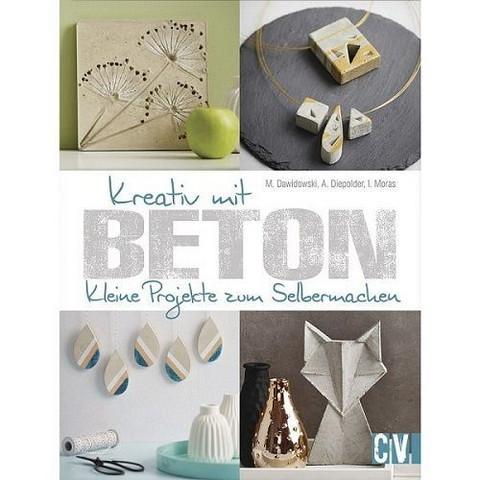 Kreativ mit Beton, book
