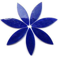 Large petals, Blue, 7 pcs
