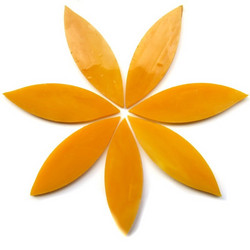 Large petals, Mango, 7 pcs