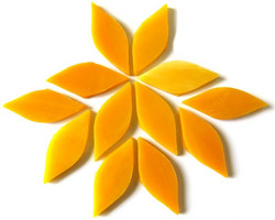 Small petals, Mango, 12 pcs