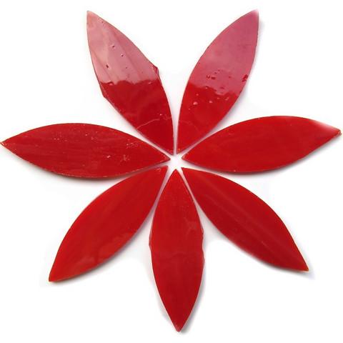 Large petals, Red, 7 pcs