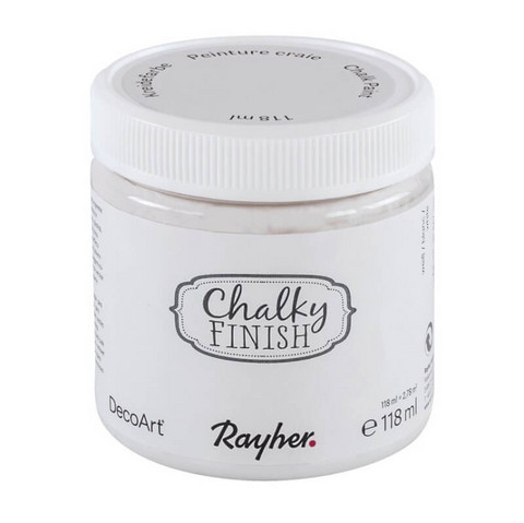 Chalky Finish, White, 118 ml