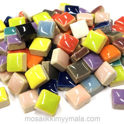 Mini Glazed Ceramic, Mix, 500 g