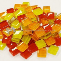 Mini Crystal, Yellow-Red Mix 500 g